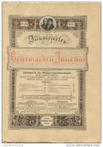 Illustriertes Briefmarken Journal - XXI Jahrgang Nr. 11 - Juni 1894 - Verlag Gebrüder Senf Leipzig