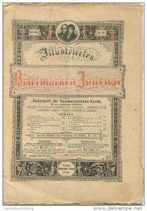 Illustriertes Briefmarken Journal - XXI Jahrgang Nr. 14 - Juli 1894 - Verlag Gebrüder Senf Leipzig