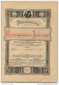Illustriertes Briefmarken Journal - XXIII Jahrgang Nr. 14 - Juli 1896 - Verlag Gebrüder Senf Leipzig
