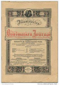 Illustriertes Briefmarken Journal - XXIII Jahrgang Nr. 15 - August 1896 - Verlag Gebrüder Senf Leipzig