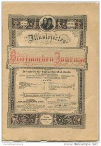 Illustriertes Briefmarken Journal - XXIII Jahrgang Nr. 16 - August 1896 - Verlag Gebrüder Senf Leipzig