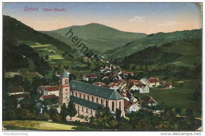 Urbeis - Feldpost - 2. Bayer. Landsturm-Inf.-Batl. 1. Komp. Passau