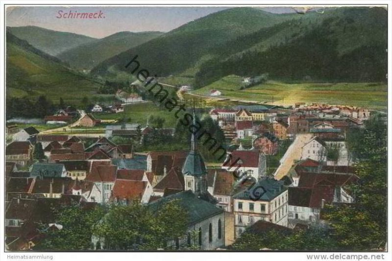 Schirmeck - Feldpost - 2. Bayer. Landsturm-Inf.-Batl. 1. Komp. Passau