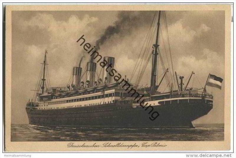 Hamburg-Südamerika-Dampfschifffahrts-Gesellschaft - Dreischraubendampfer Cap Polonio