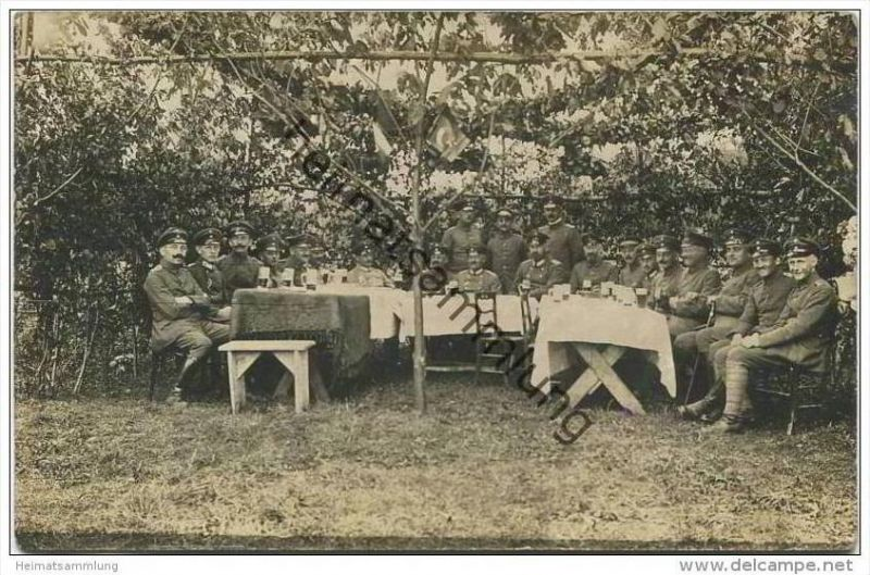 Soldaten - Trinkfeste Runde - Feldpost
