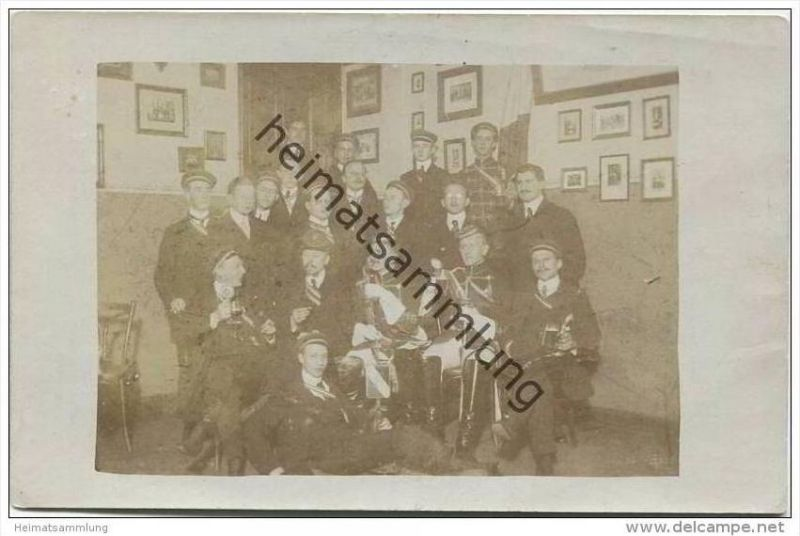 Studentica - Berlin 1912 - General-Convent Commers - Foto-AK