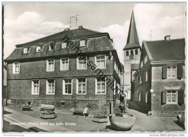 Mettmann - Kath. Kirche - Foto-AK-Grossformat