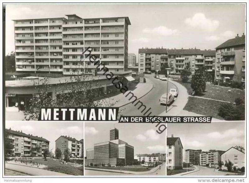 Mettmann - Breslauer Strasse - Foto-AK-Grossformat