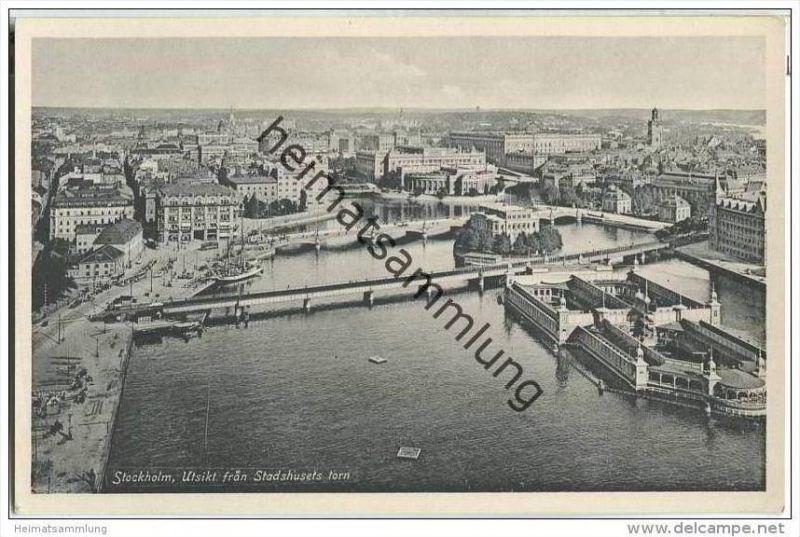 Stockholm - Utsikt fran Stadshusets torn