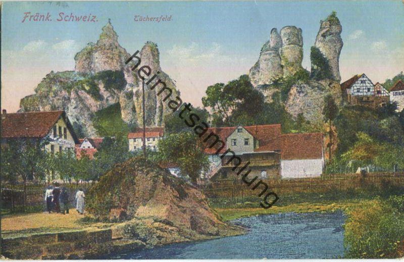 Tüchersfeld Fränkische Schweiz - Verlag Gebr. Metz Tübingen