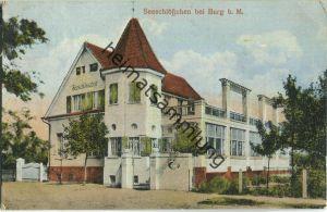Burg - Seeschlösschen - Verlag Carl H. Odemar Magdeburg