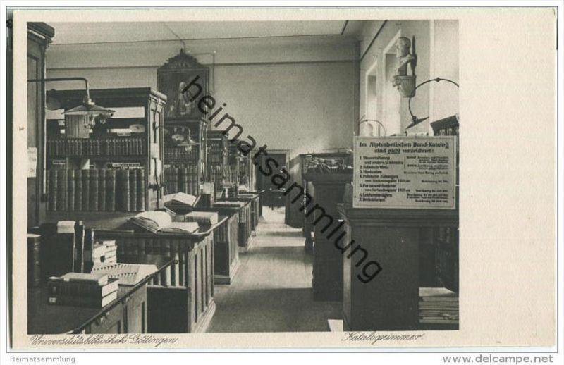 Göttingen - Universitätsbibliothek - Katalogzimmer