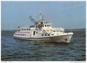 Travemünde - Fahrgastschiff Sven Johannsen - Kapt. W. u. J. Johannsen - AK Grossformat - Verlag Schöning & Co. + Geb