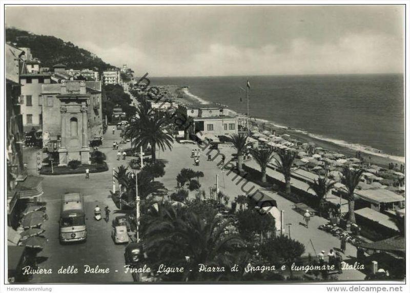 Finale Ligure - Riviera delle Palme - Piazza di Spagna e lungomare ...