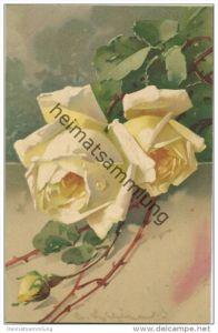 Blumen - Gelbe Rosen - Catharina C. Klein - Verlag Meissner & Buch Leipzig - Serie 2025 Aus unserem Rosengarten