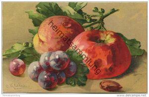 Stilleben - Weintrauben - Apfel - Mandel - Catharina C. Klein - Verlag G. O. M. 2175