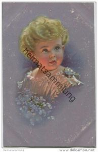 Kleines Kind mit Blumen - Ludwig Knoefel - Verlag Novitas GmbH Berlin