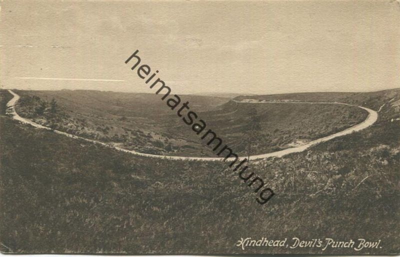 Hindhead - Devil's Punch Bowl gel. 1925