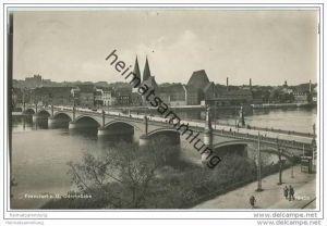 Frankfurt a. d. Oder - Oderbrücke - Foto-AK