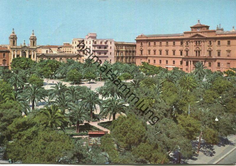 Taranto - Piazza Garibaldi - AK Grossformat gel. 1962