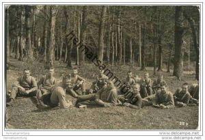 Schweizer Soldaten - Foto-AK