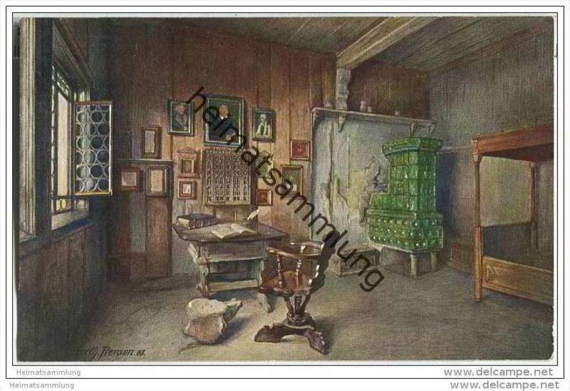 Wartburg - Luther-Stube - Berthold Pierson