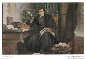 Wartburg - Reformationszimmer - Luther - P. Thumann