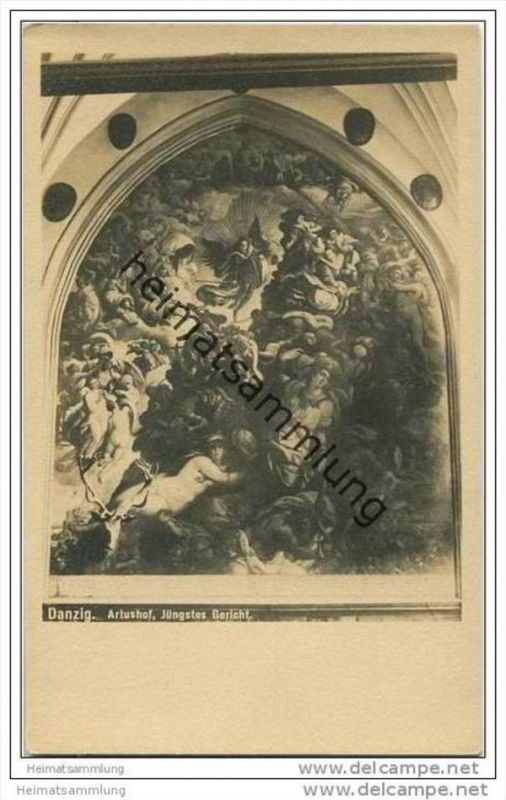 Danzig - Artushof - Jüngstes Gericht