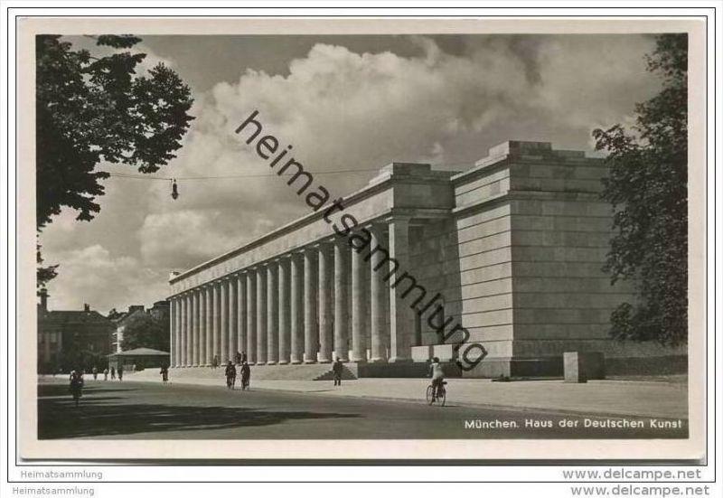 München - Haus der Deutschen Kunst - Foto-AK