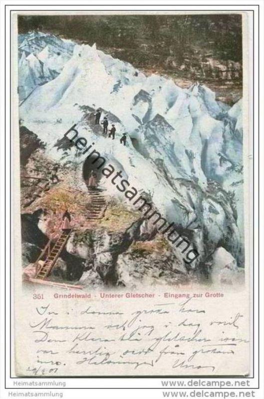 Grindelwald - Unterer Gletscher - Eingang zur Grotte