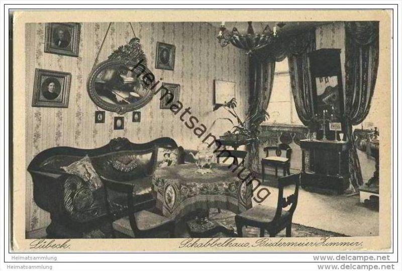 Lübeck - Schabbel-Haus - Biedermeier-Zimmer