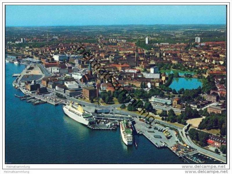 Kiel - Oslo-Kai - AK-Grossformat