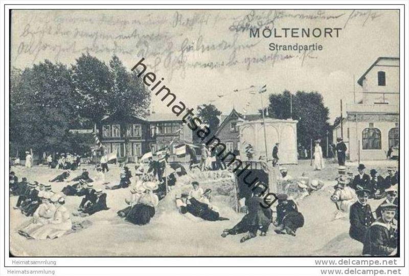 Möltenort - Strandpartie