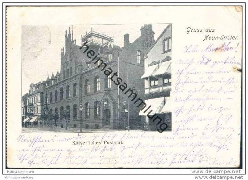 Neumünster - Kaiserliches Postamt