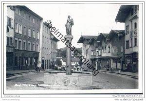 Bad Tölz - Marienbrunnen - Foto-AK