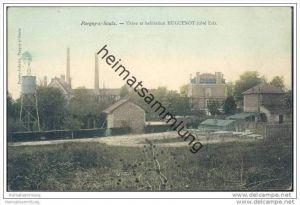 Pargny-sur-Saulx - Usine et habitation Huguenot (cote Est)