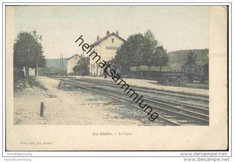 Les Islettes - La Gare