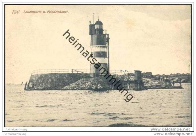 Kiel - Leuchtturm bei Friedrichsort