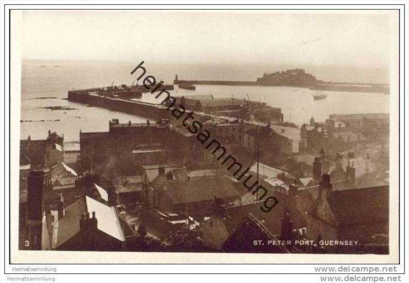 Guernsey - St. Peter Port - Foto-AK ca. 1920