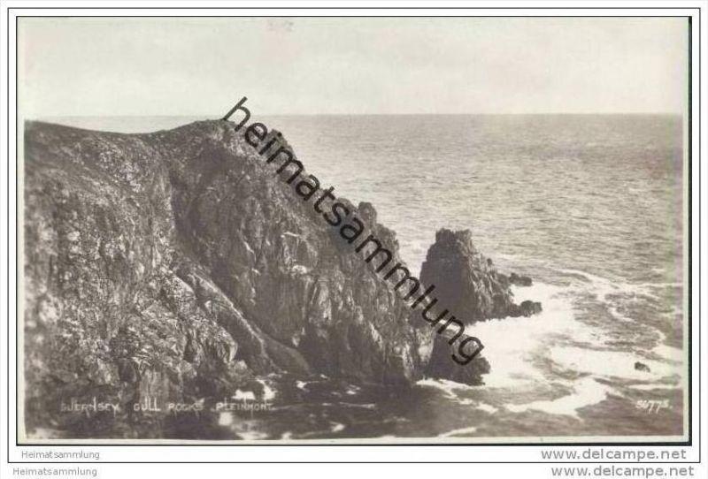 Gull Rocks Pleinmont - Foto-AK ca. 1920