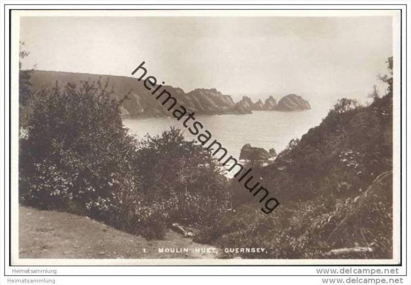 Guernsey - Moulin Huet - Foto-AK ca. 1920