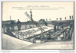 Fere-Champenoise - Cette Tomb se trouve pres de la Gare