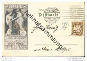 Nürnberg - Jubiläums-Landesausstellung 1906 - Privatganzsache