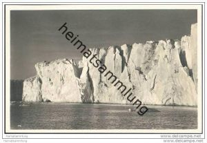 Svalbard - Spitzbergen - Packeis - Foto-AK 30er Jahre