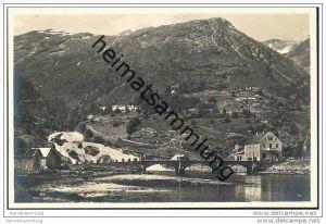 Hellesylt - Foto-AK 30er Jahre