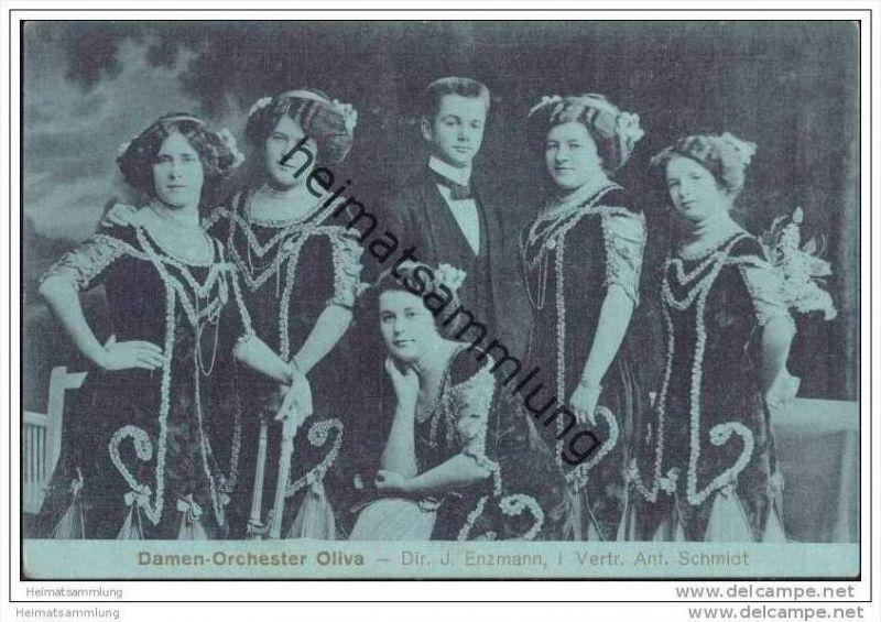 Damen-Orchester Olivia - Dir. J. Enzmann in Vertretung Anton Schmidt
