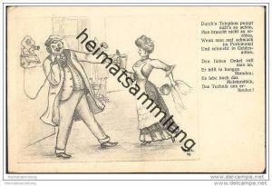Künstlerkarte sig. H.St. 1909 - Der Erlös dient zur Errichtung eines Post-Ferien- und Erholungsheims