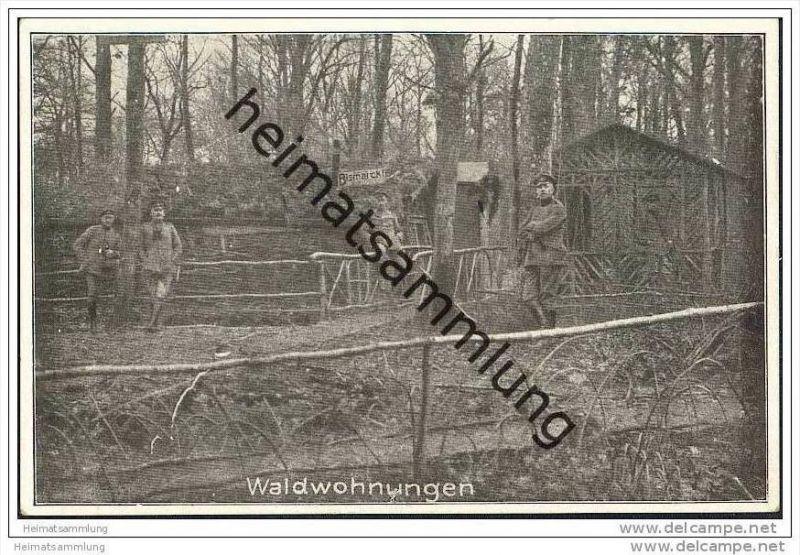Militär - 1.Weltkrieg - Waldwohnungen - Feldpost
