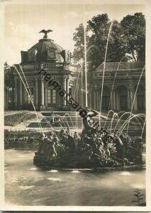 Eremitage bei Bayreuth - Neues Schloss - Sonnentempel - Foto-Ansichtskarte Grossformat - Verlag Gundermann Würzburg