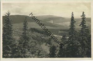 Podhale Miedzygorze - Maria Schnee - Blick zum Schneeberg - Foto-Ansichtskarte - Im schönen Glatzer Bergland
